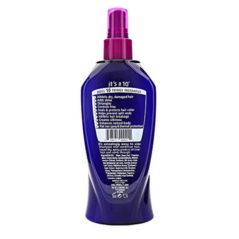 It's a 10 Haircare Miracle Leave-In Product, 10 fl. oz.