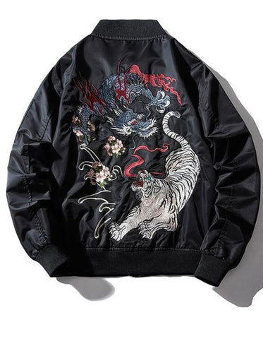Veste-dragon-tigre | Legend-Dragon