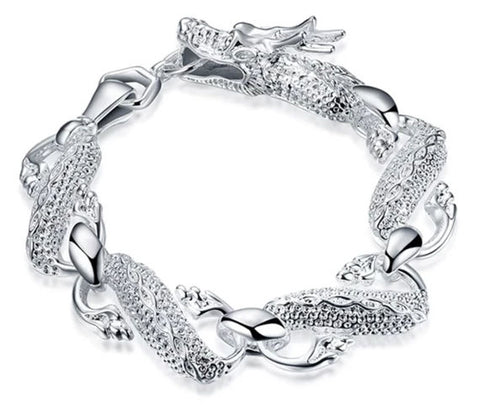 Bracelet Dragon Femme Argent Massif | Legend Dragon