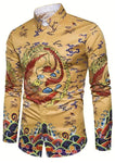 Chemise Dragon Empereur Chinois | Legend Dragon