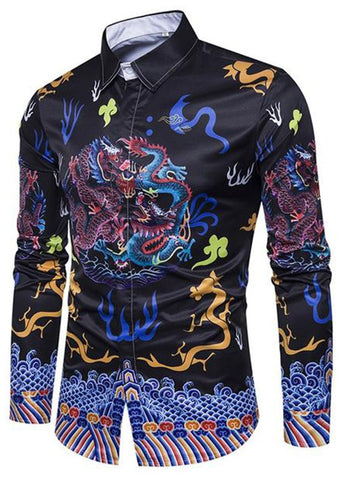 Chemise Dragon Hipster | Legend Dragon