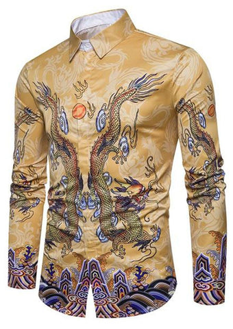 Chemise Dragon Tradition Chinoise | Legend Dragon