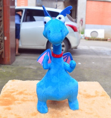 Peluche Dragon Bleu | Legend-Dragon