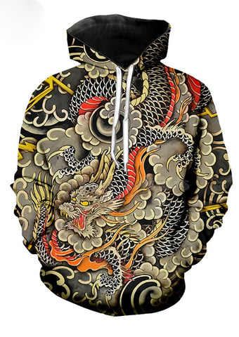 Sweat Dragon Harajuku Street | Legend Dragon
