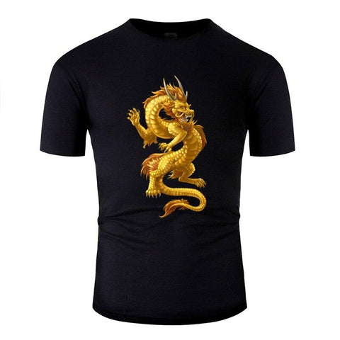 T-Shirt Chinois D'or | Legend Dragon