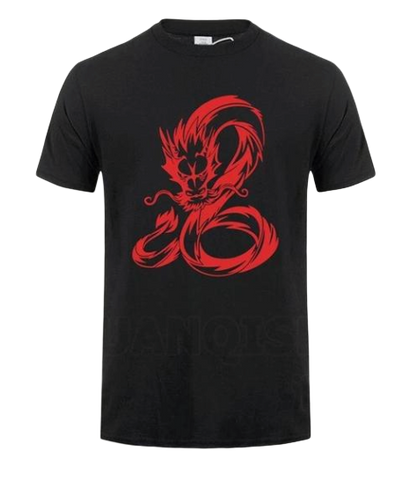 T-Shirt Dragon Serpent Rouge | Legend Dragon