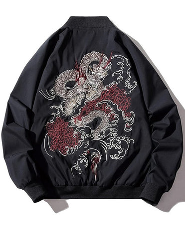 Veste Dragon Chinois (Style Bomber) | Legend Dragon