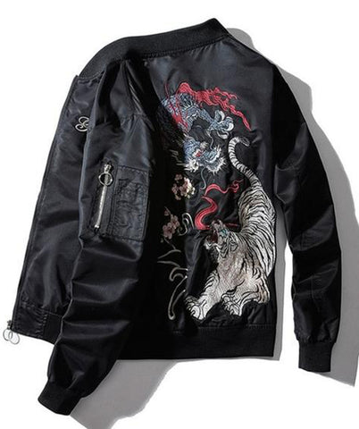 Veste Dragon Tigre (Style Bomber) | Legend Dragon
