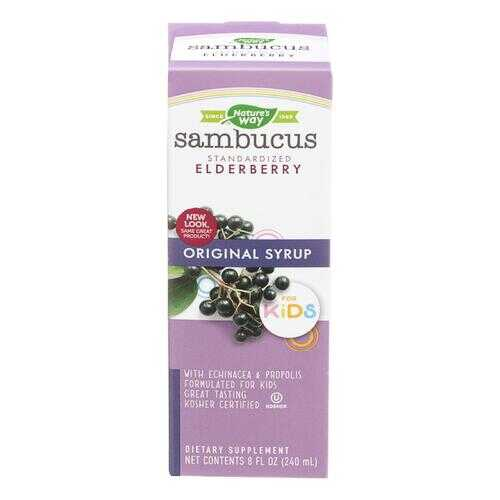 Nature's Way - Original Sambucus for Kids - Standardized Elderberry - 8 fl oz