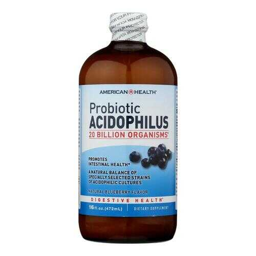 American Health - Probiotic Acidophilus Blueberry - 15 fl oz