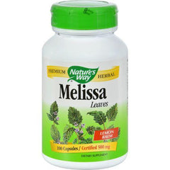 Nature's Way - Melissa Leaves - 100 Capsules