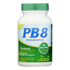 Nutrition Now PB 8 Pro-Biotic Acidophilus For Life - 120 Vegetarian Capsules