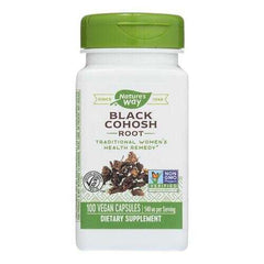 Nature's Way - Black Cohosh Root - 100 Capsules