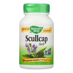 Nature's Way - Scullcap Herb - 100 Capsules