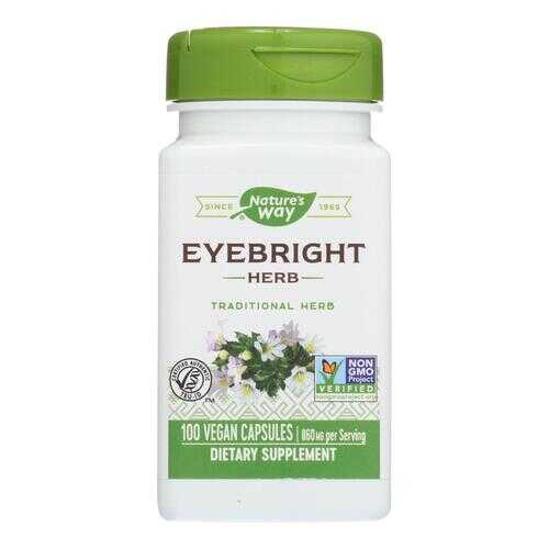 Nature's Way - Eyebright Herb - 100 Capsules