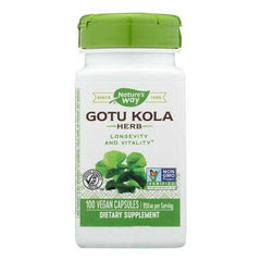 Nature's Way - Gotu Kola Herb - 100 Capsules