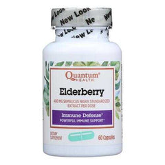 Quantum Elderberry Immune Defense Extract - 400 mg - 60 Capsules