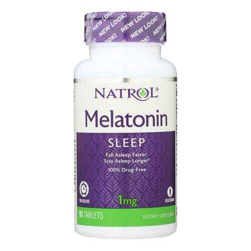 Natrol Melatonin Time Release - 1 mg - 90 Tablets
