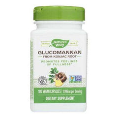Nature's Way - Glucomannan Root - 100 Capsules