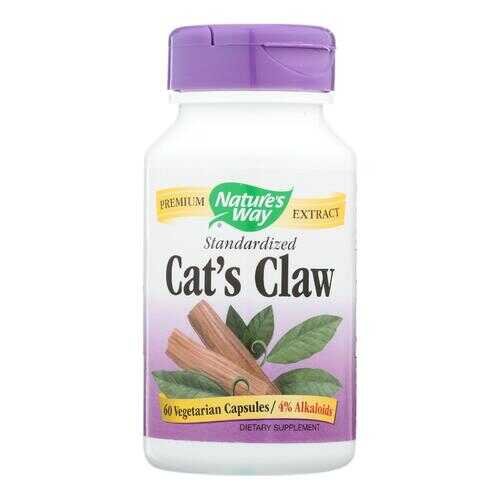 Nature's Way - Standardized Cats Claw - 60 Capsules