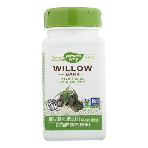 Nature's Way - White Willow Bark - 400 mg - 100 Capsules