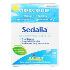 Boiron - Sedalia Stress - 60 Tablets