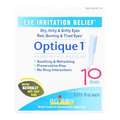 Boiron - Optique 1 Minor Eye Irritation Drops - 10 Doses