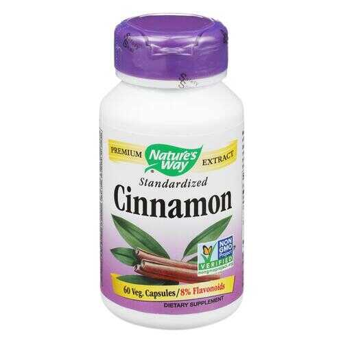 Nature's Way - Cinnamon Standardized - 60 Vcaps
