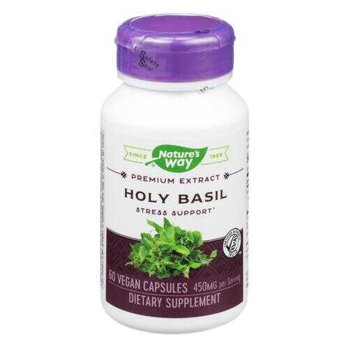 Nature's Way - Holy Basil Standardized - 60 Vegetarian Capsules