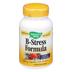 Nature's Way - B-Stress Formula - 100 Capsules