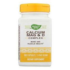 Nature's Way - Calcium Mag and D Complex - 100 Capsules