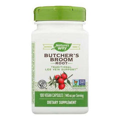 Nature's Way - Butcher's Broom - 100 Capsules