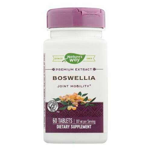 Nature's Way - Standardized Boswellia - 60 Tablets