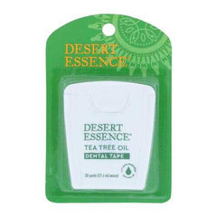 Desert Essence - Tea Tree Oil Dental Tape - 30 Yds - Case of 6