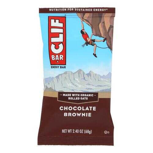 Clif Bar - Organic Chocolate Brownie - Case of 12 - 2.4 oz