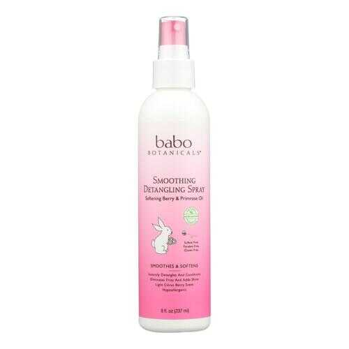 Babo Botanicals - Instantly Smooth Detangler Berry Primrose - 8 fl oz