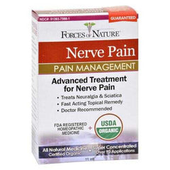 Forces of Nature - Organic Nerve Pain Management - 11 ml