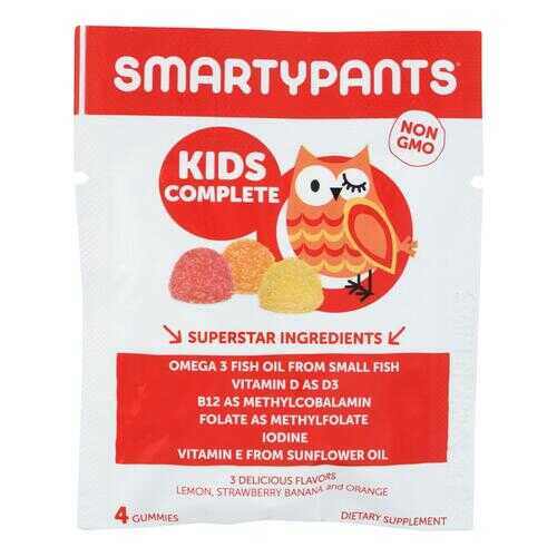 SmartyPants Kid's Complete Gummy Multivitamin - .42 oz - Case of 15