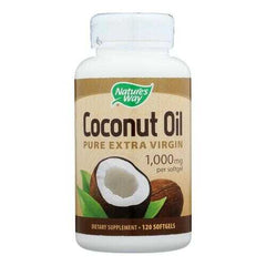 Nature's Way - Coconut Oil - 1000 mg - 120 Softgels
