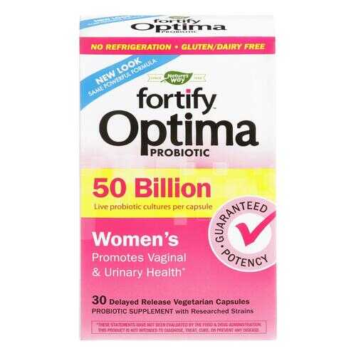 Nature's Way - Primadophilus Optima - Womens - 50 Billion - 30 Vegetarian Capsules