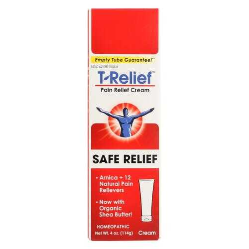 T-Relief - Pain Relief Ointment - Arnica plus 12 Natural Ingredients - 3.53 oz