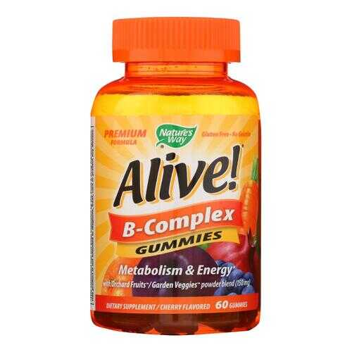 Nature's Way - Alive! B-Complex Gummies - 60 Gummies