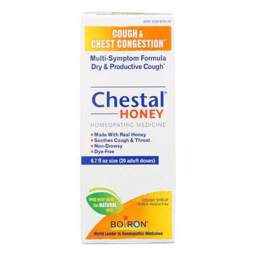Boiron - Chestal - Cough and Chest Congestion - Honey - Adult - 6.7 oz
