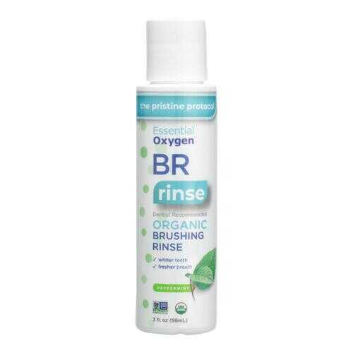 Essential Oxygen Brushing Rinse - Organic - Peppermint - 3 oz