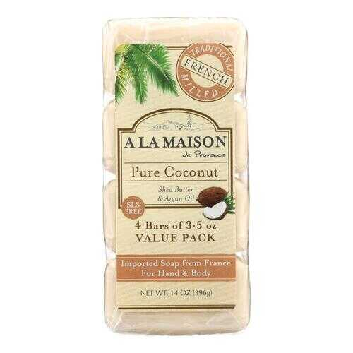 A La Maison - Bar Soap - Pure Coconut - 4/3.5 Oz