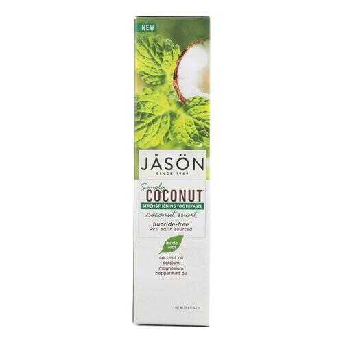 Jason Natural Products Strengthening Toothpaste - Coconut Mint - 4.2 oz