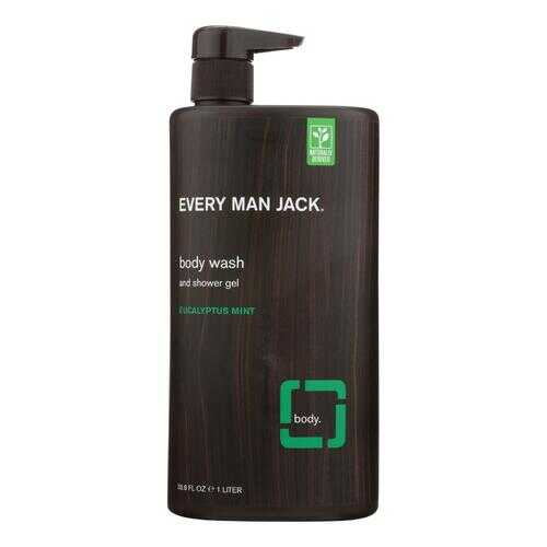 Every Man Jack Body Wash Eucalyptus Mint Body Wash - Case of 33.8 - 33.8 fl oz.