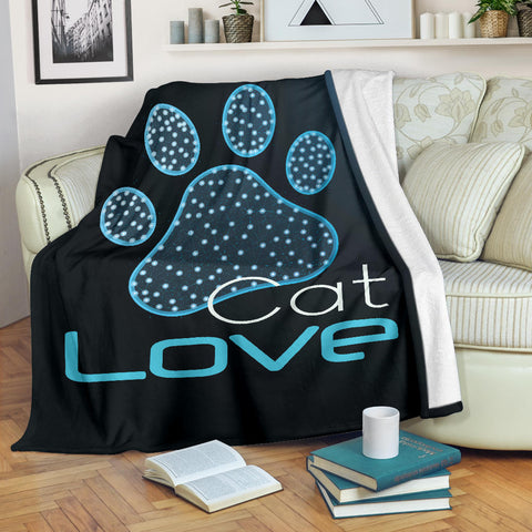 Cat Love Blanket