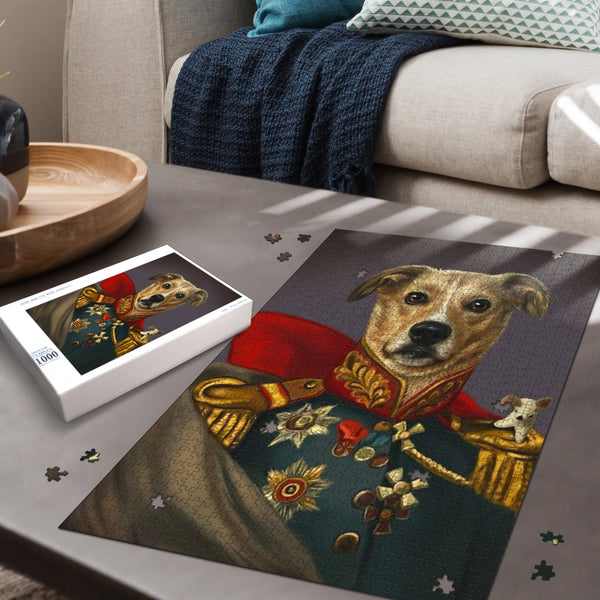 Admiral Dog Jigsaw Puzzle