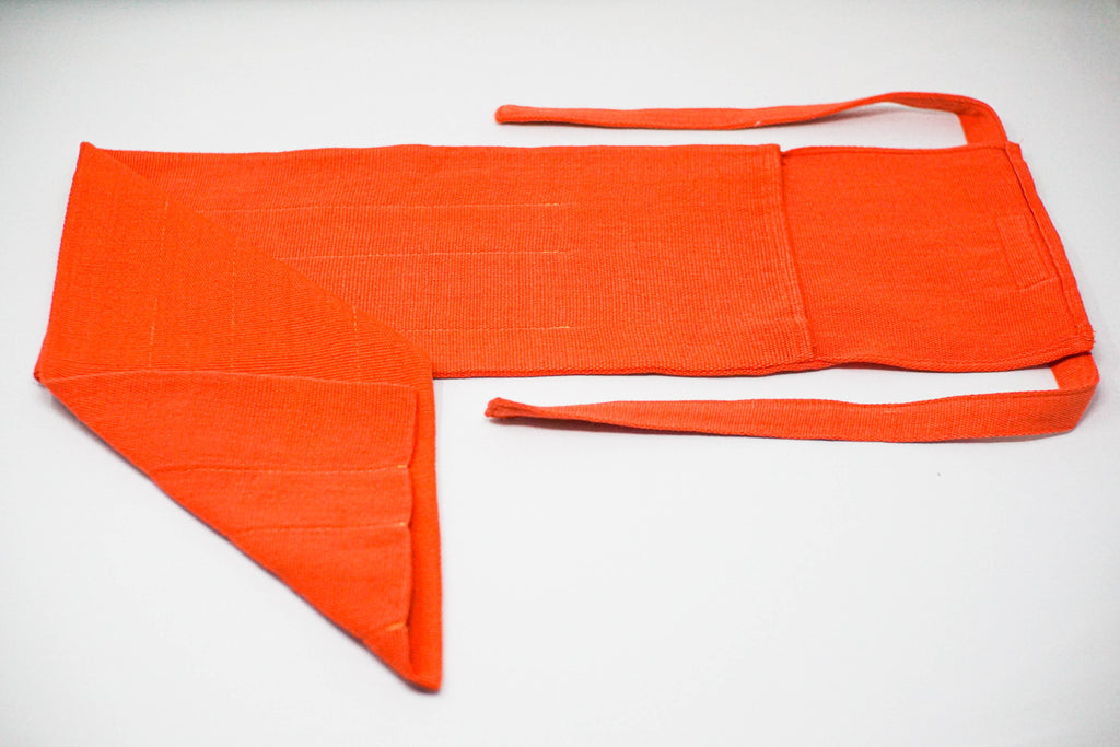 The PANA Artisanal Fly Rod Sock - Orange